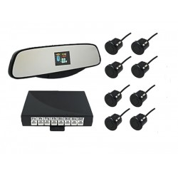 SVS LED-017-8 8 датчиков дисплей в зеркале black; silver; white