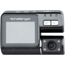 CHALLENGER GVR-720 (HD 720p + внешняя камера заднего вида/записи, ИК-подсветка, датчик движ., HDMI-выход, 2 вида крепления в комплекте)