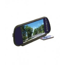 """Зеркало заднего вида с монитором экран TFT LCD, размер 7"""",питание 12В, TV система PAL/NTSC арт.030.0006.000 (накладное)"""
