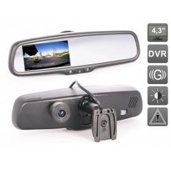 DVR-Mirror Зеркало заднего вида с видеорегистратором (с автозатемнением)